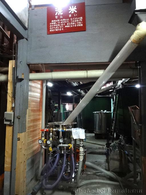 岐阜県美濃加茂市太田本町の御代桜醸造の洗米機