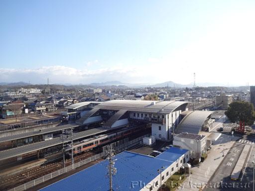 岐阜県美濃加茂市のホテルルートイン美濃加茂の窓の外の景色