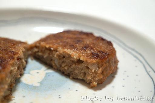 充実食卓マルシンハンバーグトマト断面